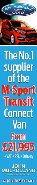 NEW FORD TRANSIT M-SPORT
